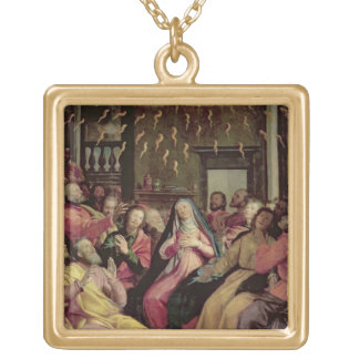 The Pentecost, c.1598 (oil on panel) Gold Plated Necklace