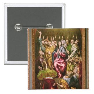 The Pentecost, c.1604-14 15 Cm Square Badge