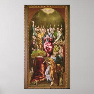 The Pentecost, c.1604-14 Poster