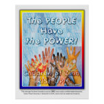The PEOPLE Have the POWER Poster