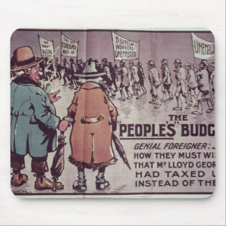 The People's Budget', 1909 Mouse Mat