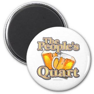 The Peoples Quart 6 Cm Round Magnet