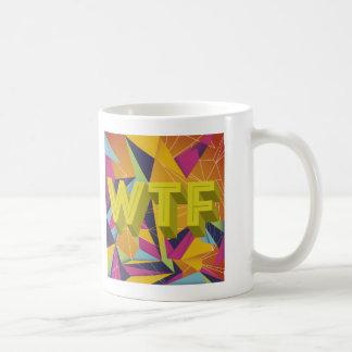 The Peoples Voice TV WTF Mug. Coffee Mug