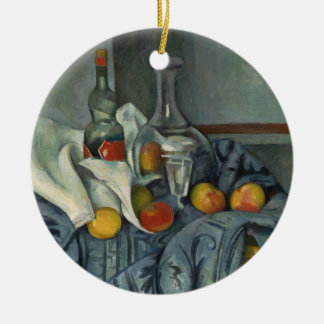 The Peppermint Bottle, 1893-95 (oil on canvas) Round Ceramic Decoration