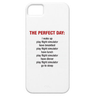 The Perfect Day - Flight Simulator iPhone 5/5S Covers