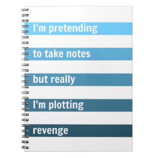 The perfect notebook for freaking people out.
