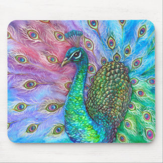 The Perfect Peacock. Mouse Mat