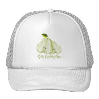 The Perfect Pear Trucker Hats