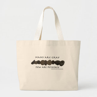 The PERFECT Tote for Collecting Petoskey Stones Jumbo Tote Bag