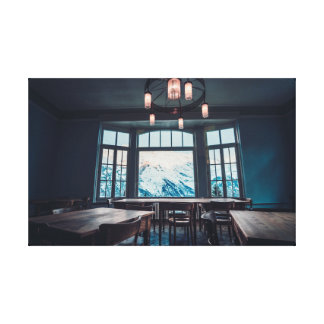 The Perfect View Canvas Print
