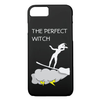 The Perfect Witch Surfs Hard iPhone 7 Case