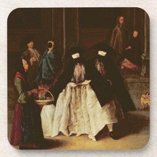 The Perfume Seller (oil on canvas) (see alo 166068 Coaster