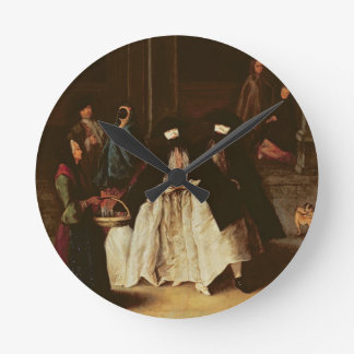The Perfume Seller (oil on canvas) (see alo 166068 Round Clock