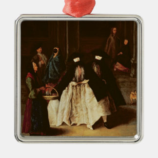 The Perfume Seller (oil on canvas) (see alo 166068 Silver-Colored Square Decoration
