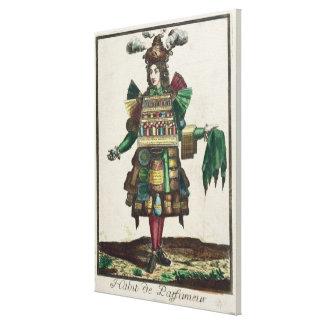 The Perfumer's Costume Canvas Print