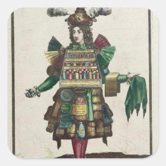 The Perfumer's Costume Square Sticker