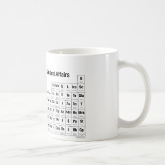 The Periodic Table of Student Affairs Mug
