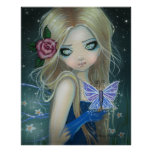 The Periwinkle Butterfly Poster Print