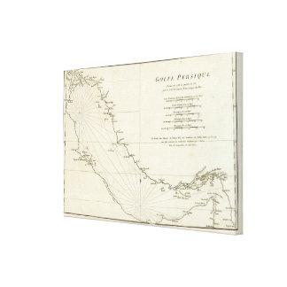 The Persian Gulf Canvas Print