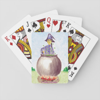 The Persnickety Wizard Playing Cards