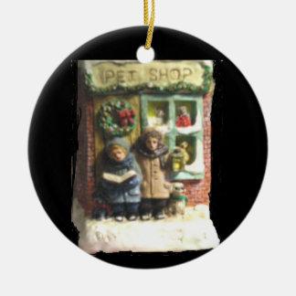 "THE PET SHOP CHRISTMAS ORNAMENT"" CHRISTMAS ORNAMENT"