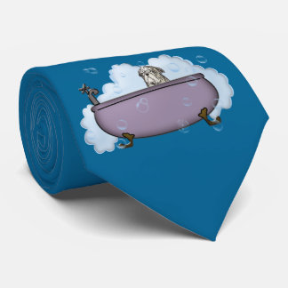 The Pet Spa - gifts for dog lovers Tie