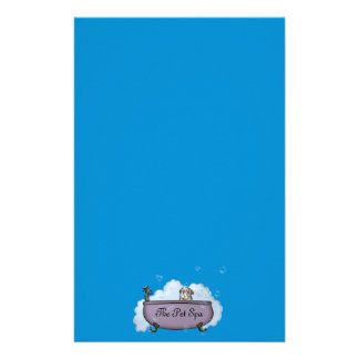 The Pet Spa - papershop Stationery Paper