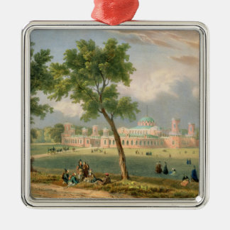 The Peter the Great Palace in Moscow Christmas Ornament