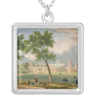 The Peter the Great Palace in Moscow Silver Plated Necklace