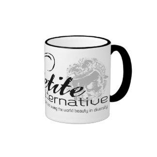 The Petite Alternative logo mug
