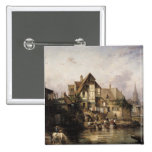 The Petits Murs Wash-House Pinback Buttons