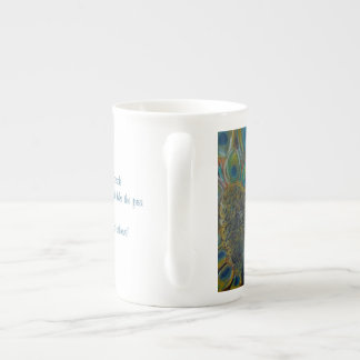 The Petulant Peacock Inspiring Mug