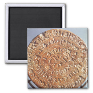 The Phaistos Disc, with unknown significance Magnet
