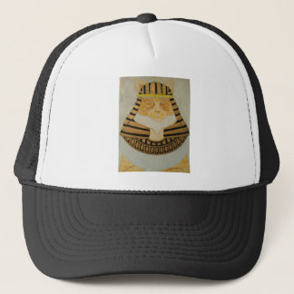 The Pharaoh Cat Trucker Hat