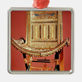 The pharaoh's ecclesiastical throne christmas ornament
