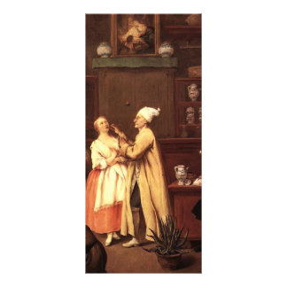 The Pharmacist by Pietro Longhi Personalized Rack Card