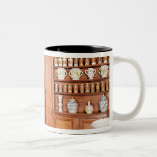 The pharmacy of the Saint-Jean Hospital Two-Tone Coffee Mug