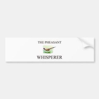 The Pheasant Whisperer Bumper Sticker