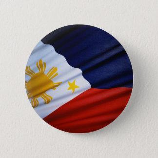 The philippines 6 cm round badge