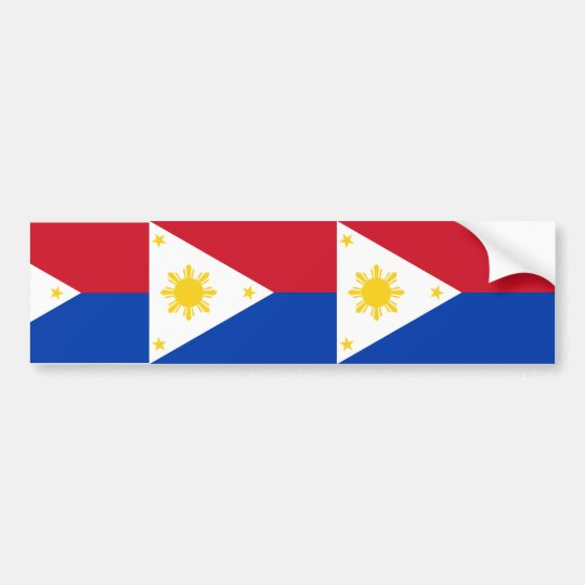 the Philippines , Philippines Bumper Sticker
