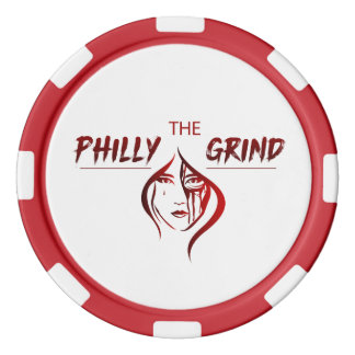 The Philly Grind Poker Chip