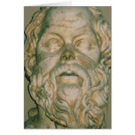 The philosopher Socrates Greeting Card