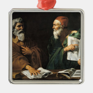 The Philosophers Christmas Ornament