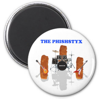 The Phishstyx 6 Cm Round Magnet