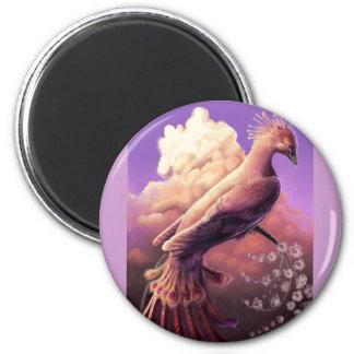 The Phoenix by Gustavo Siqueira 6 Cm Round Magnet