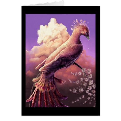 The Phoenix by Gustavo Siqueira Greeting Cards