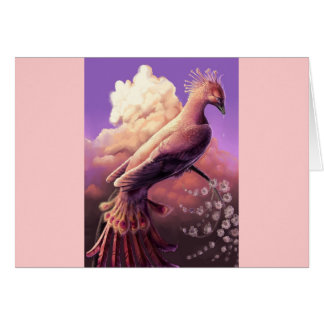The Phoenix by Gustavo Siqueira Greeting Card