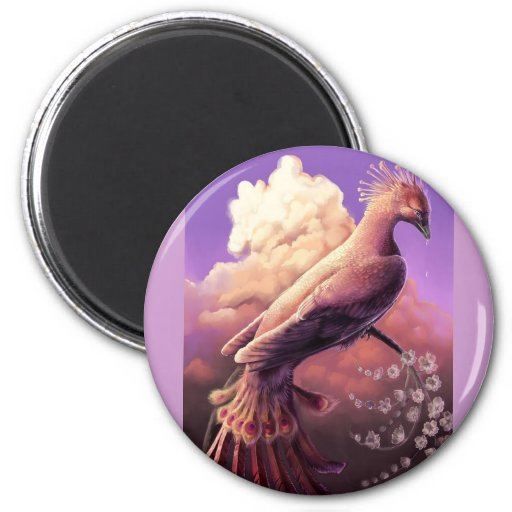 The Phoenix by Gustavo Siqueira Fridge Magnet