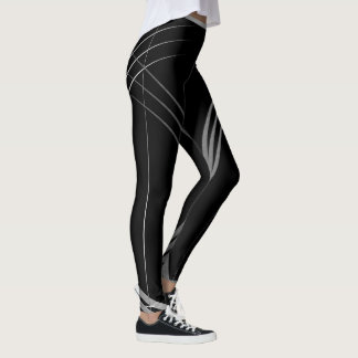 """The Phoenix"" leggings #1(with grey strips"