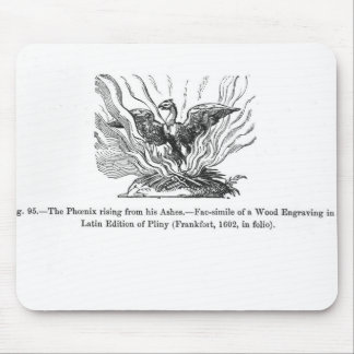 The Phoenix rising from his ashes Mouse Mat